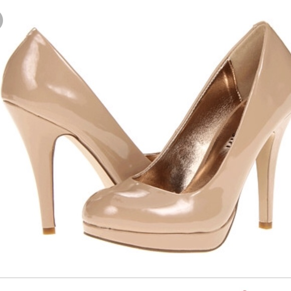2 For 2 Madden Girl Nude Patent Leather